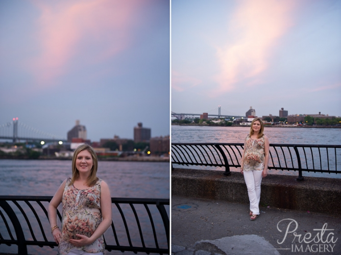 Carl Schurz Park NYC Maternity Session
