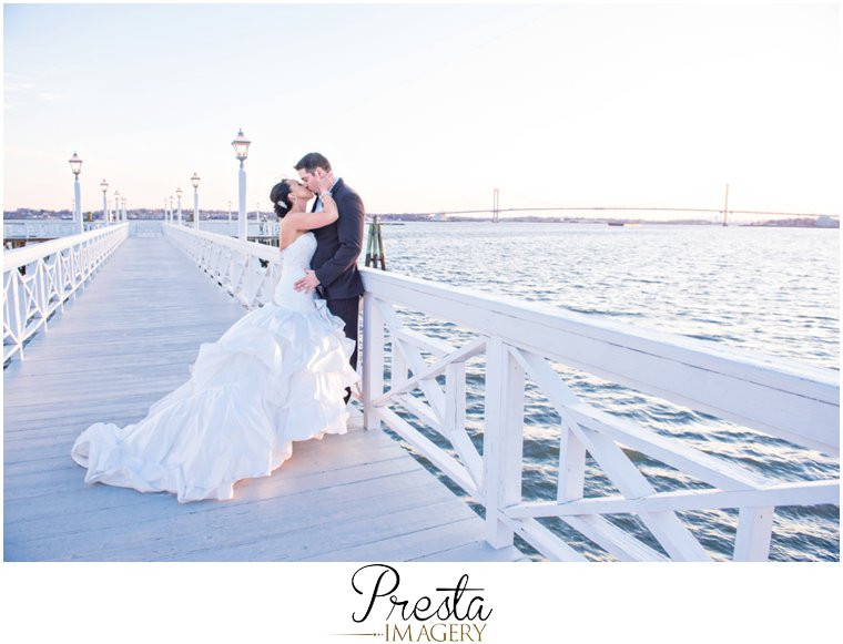Presta Imagery Bronx NY Marina del Rey Wedding Photograph
